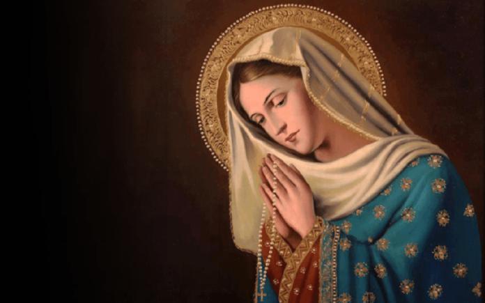 La preghiera delle Tre Ave Maria