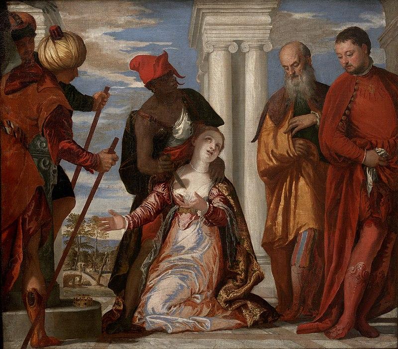 Paolo Veronese - Martirio di Santa Giustina