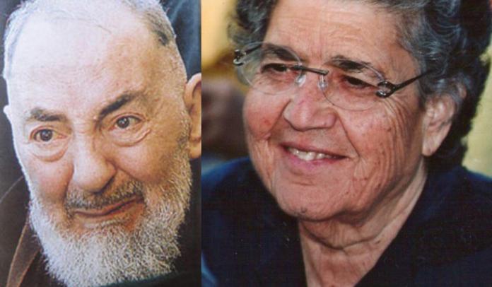 Natuzza Evolo, Padre Pio e gli angeli custodi