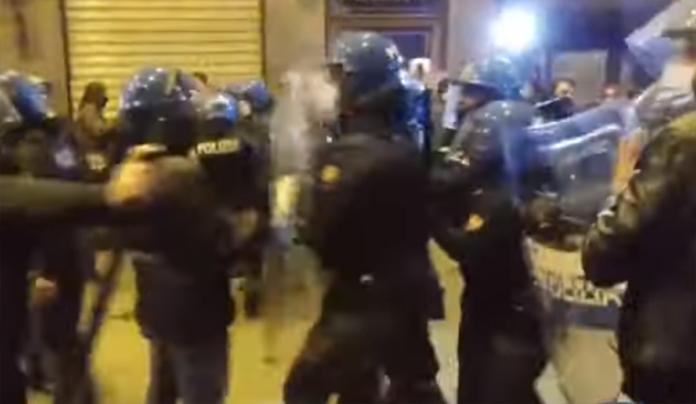 Notte di caos a Firenze