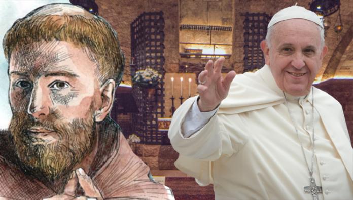 Papa Francesco ad Assisi il 3 Ottobre 2020