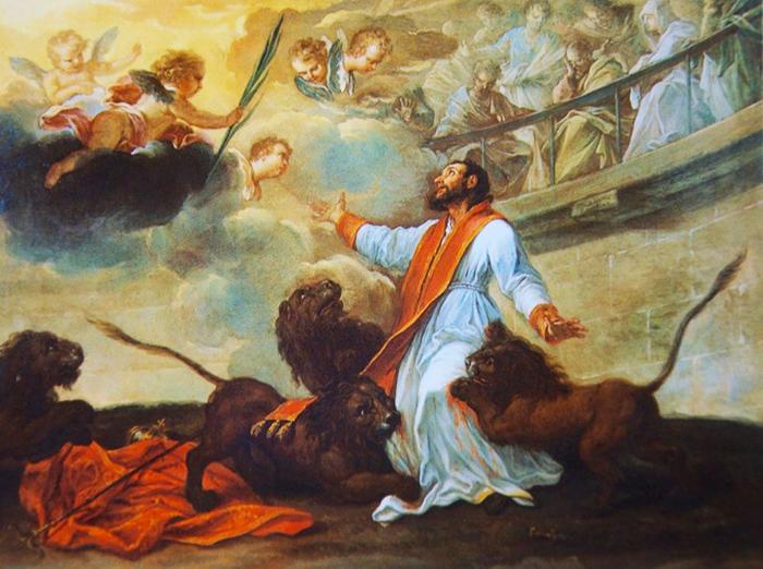 Sant'Ignazio da Antiochia, Vita e Preghiera