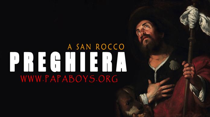 Preghiera a San Rocco