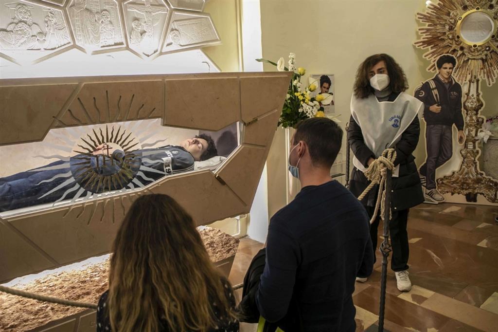 Apertura della Tomba di Carlo Acutis fino al 19 Ottobre