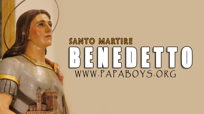 San Benedetto, Martire