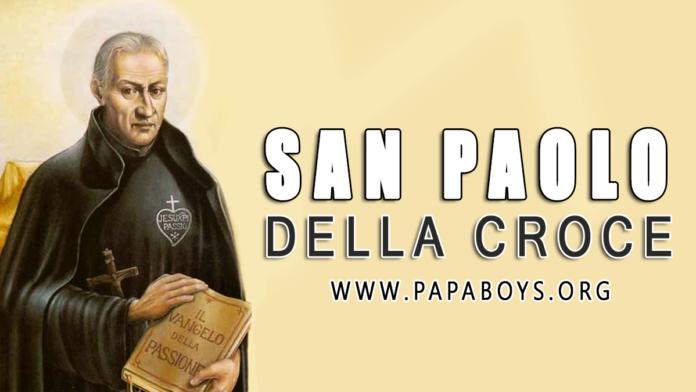 San Paolo della Croce, 19 Ottobre