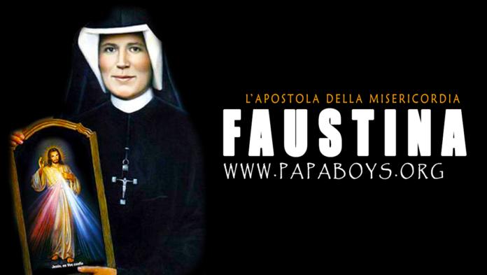 Santa Faustina Kowalska, 5 Ottobre