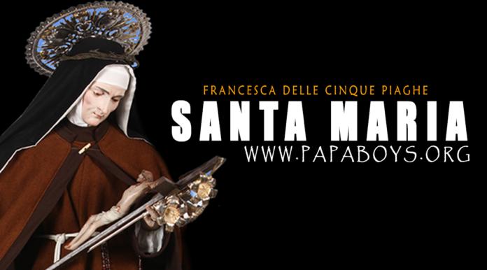 Santa Mari Francesca delle Cinque Piaghe