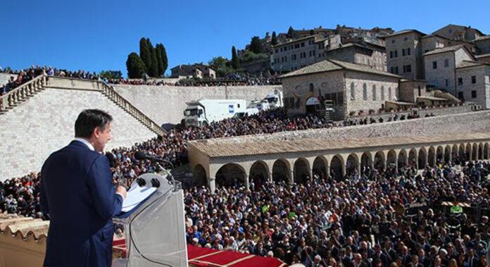 Il Premier Conte sarà ad Assisi