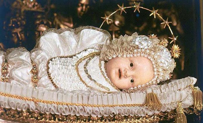 Preghiera a Maria Bambina