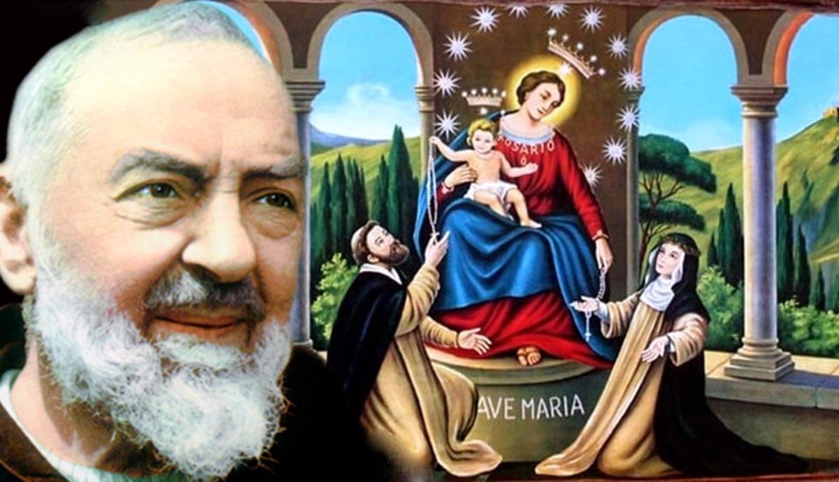 Supplica per invocare la Vergine del Rosario