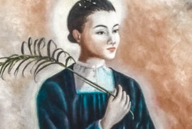 Santa Maddalena da Nagasaki, Vergine e martire