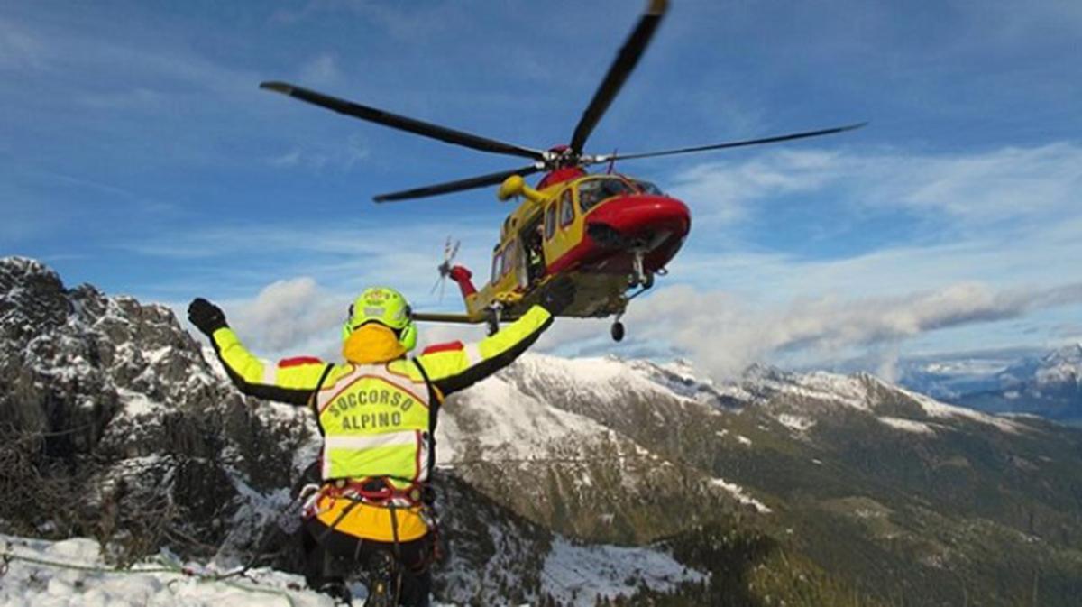 Incidente elicottero Cervinia