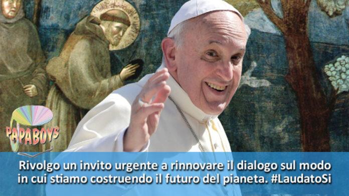 Papa Francesco torna sul tema dell'ecologia