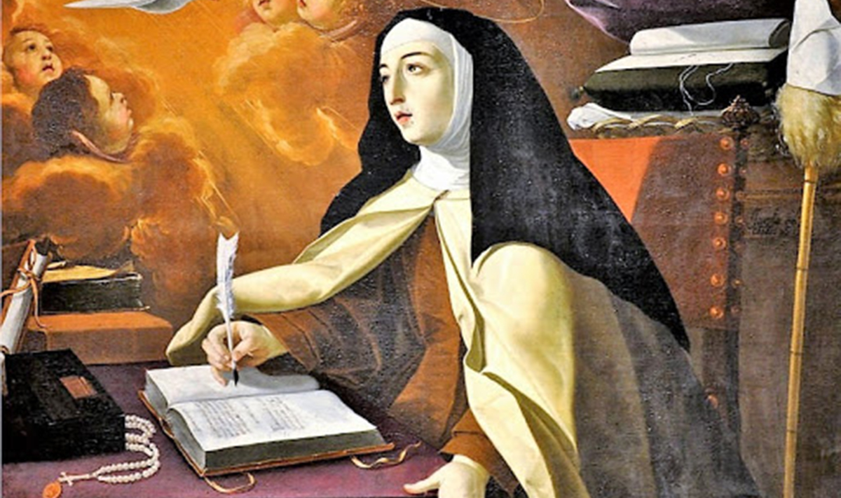 Le frasi più belle di Santa Teresa d'Avila