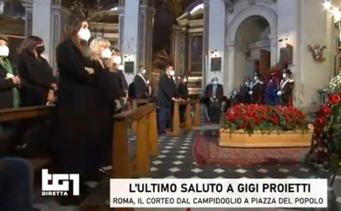 Funerale Gigi Proietti, Brignano: