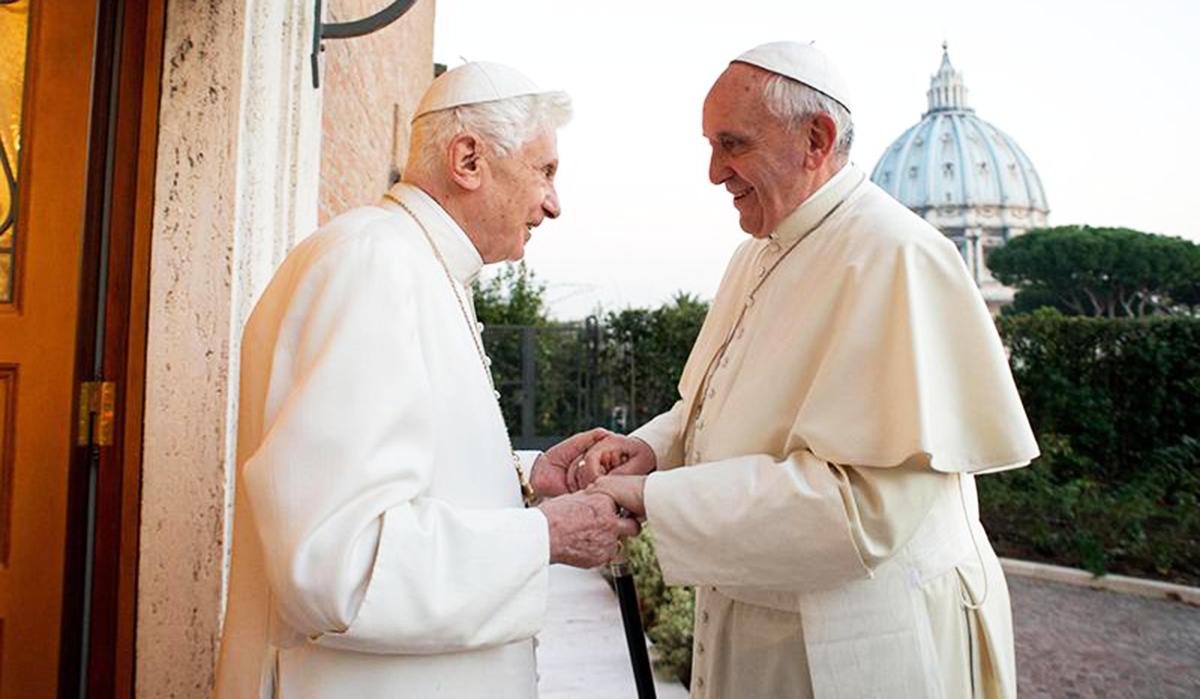 Benedetto XVI e quel legame con Papa Francesco