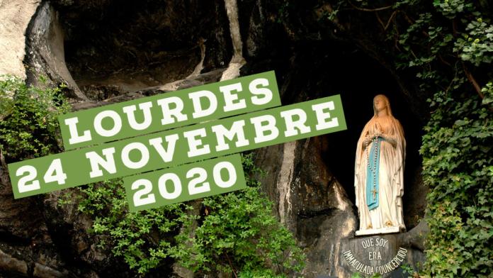 Lourdes, rosario 24 novembre 2020