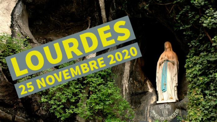 Lourdes 25 novembre 2020 ore 23.15