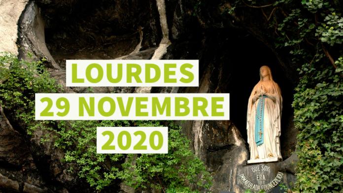 Dalla Grotta di Lourdes preghiera del Santo ROSARIO. Domenica 29 novembre 2020. LIVE TV dalle h. 23.15