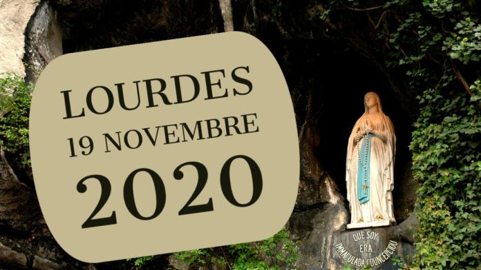Rosario Lourdes 19 novembre 2020