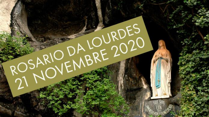Rosario di Lourdes 21 novembre 2020