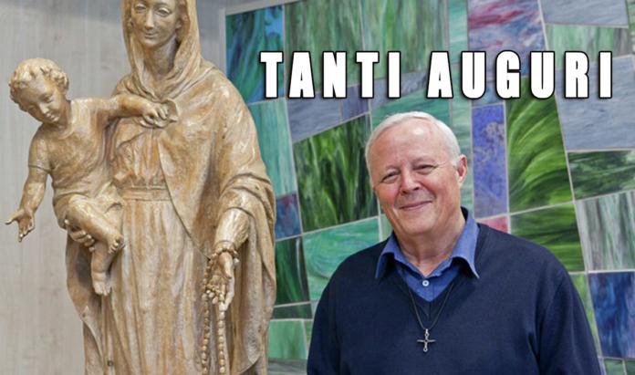 Tanti auguri a Padre Livio Fanzaga