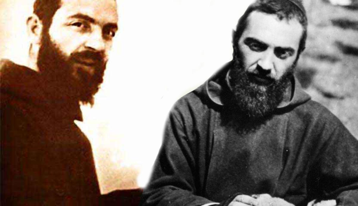 Padre Pio e l'angelo custode