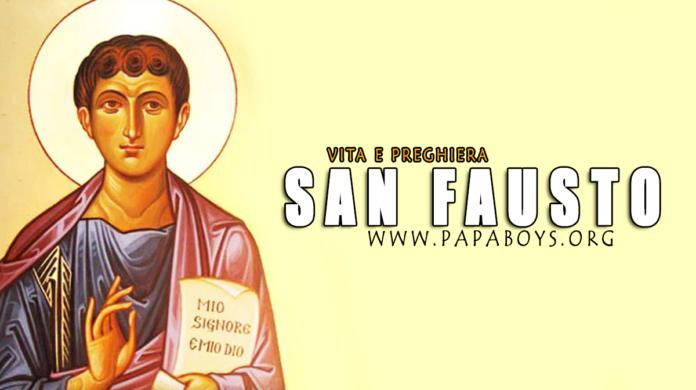 San Fausto d'Alessandria: vita e preghiera