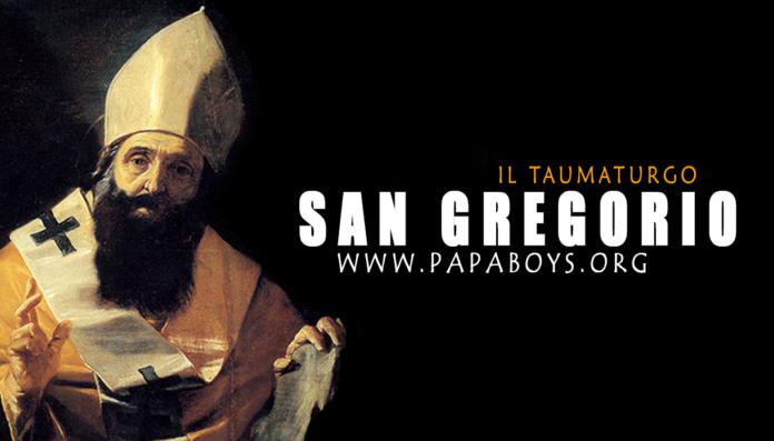 San Gregorio, il taumaturgo: vita e preghiera