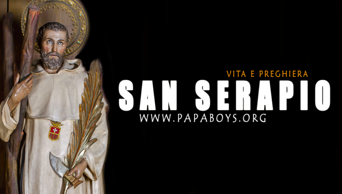 San Serapio, martire: vita e preghiera