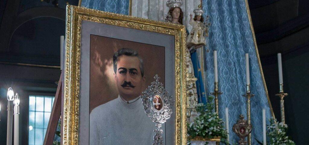 Una reliquia di San Giuseppe Moscati