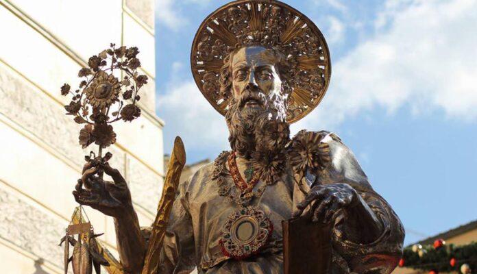 Sant'Andrea: miracolo della 'manna'