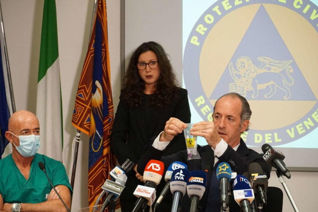 ZAIA presidente della Regione Veneto