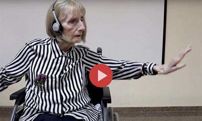 Ex ballerina, malata di Alzheimer, incanta tutti