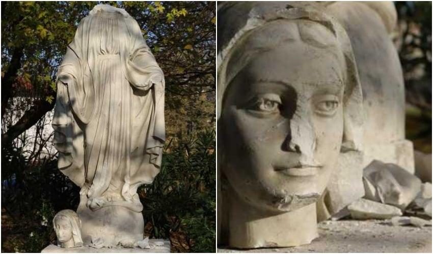 Madonna decapitata a Marghera