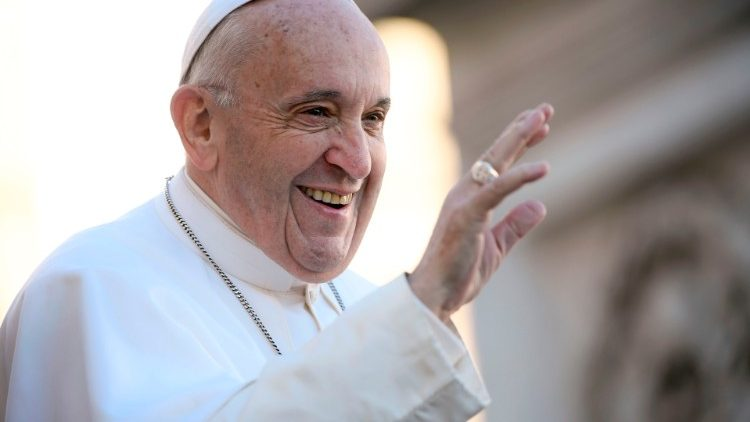 Papa Francesco (Credit: Daniel Ibanez/CNA)