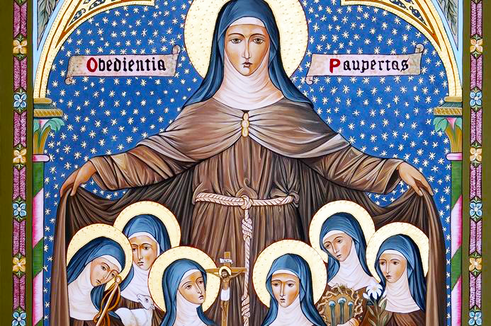 Sant'Agnese d'Assisi: vita e preghiera