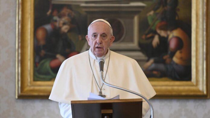 L'appello del Papa: