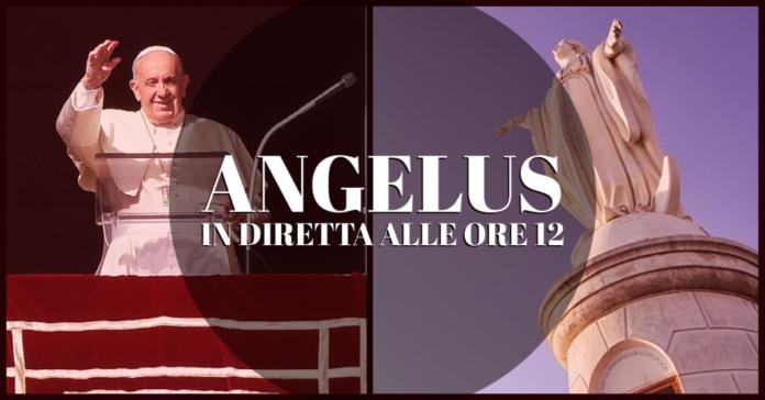 Angelus e benedizione con Papa Francesco, domenica 1 agosto 2021. LIVE TV dalle h.12.00