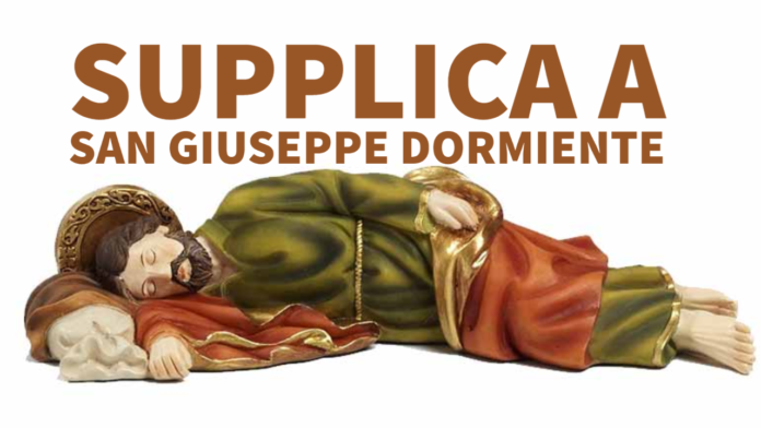 Invoca San Giuseppe dormiente, a Lui affida i tuoi problemi! Preghiera della notte, tra il 12 ed il 13 febbraio 2021