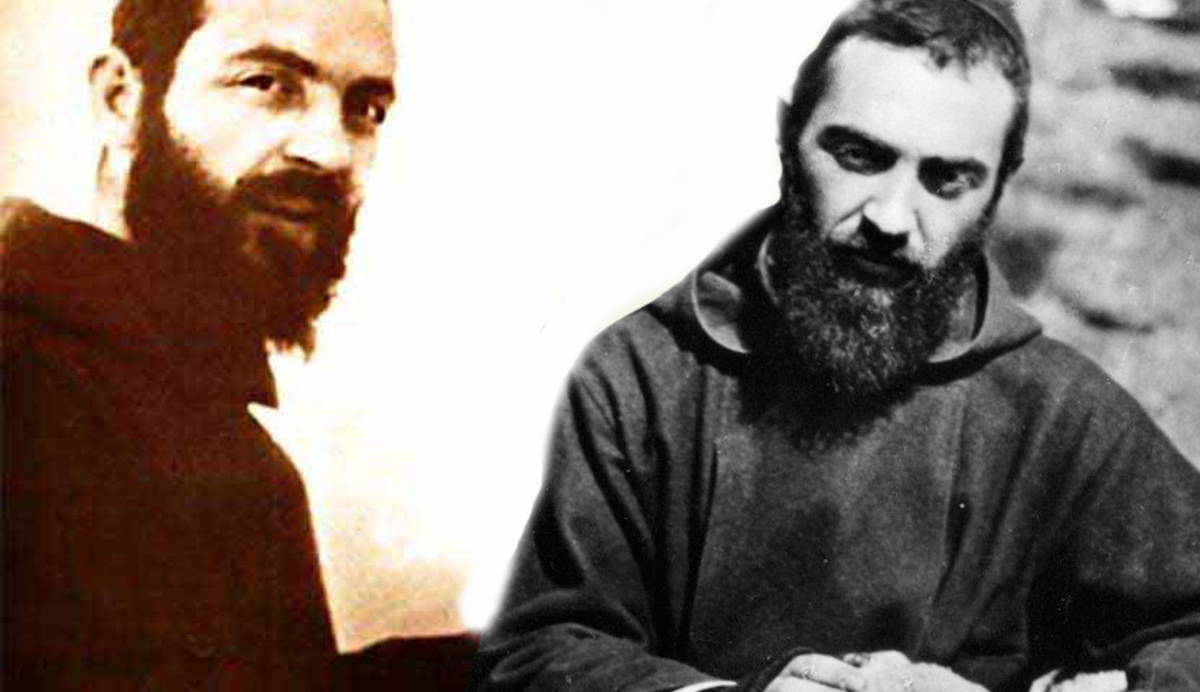 Padre Pio e gli angeli