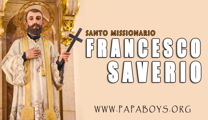 San Francesco Saverio: vita e preghiera
