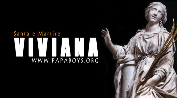 Santa Viviana (Bibiana): vita e martirio