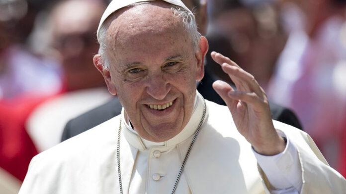 Nuovo tweet di Papa Francesco