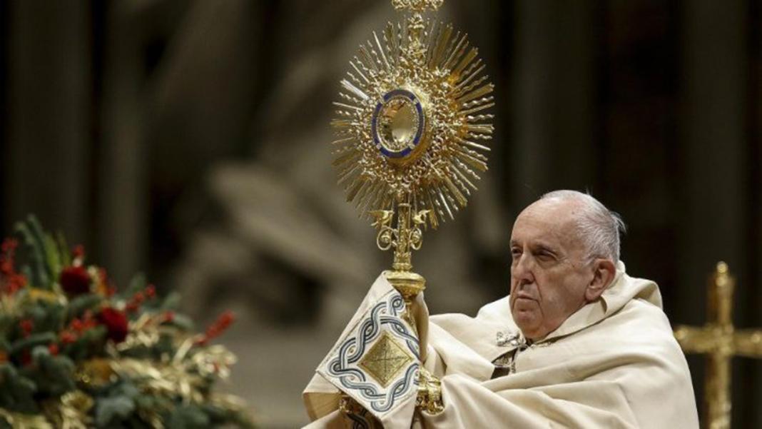 Papa Francesco, Te Deum