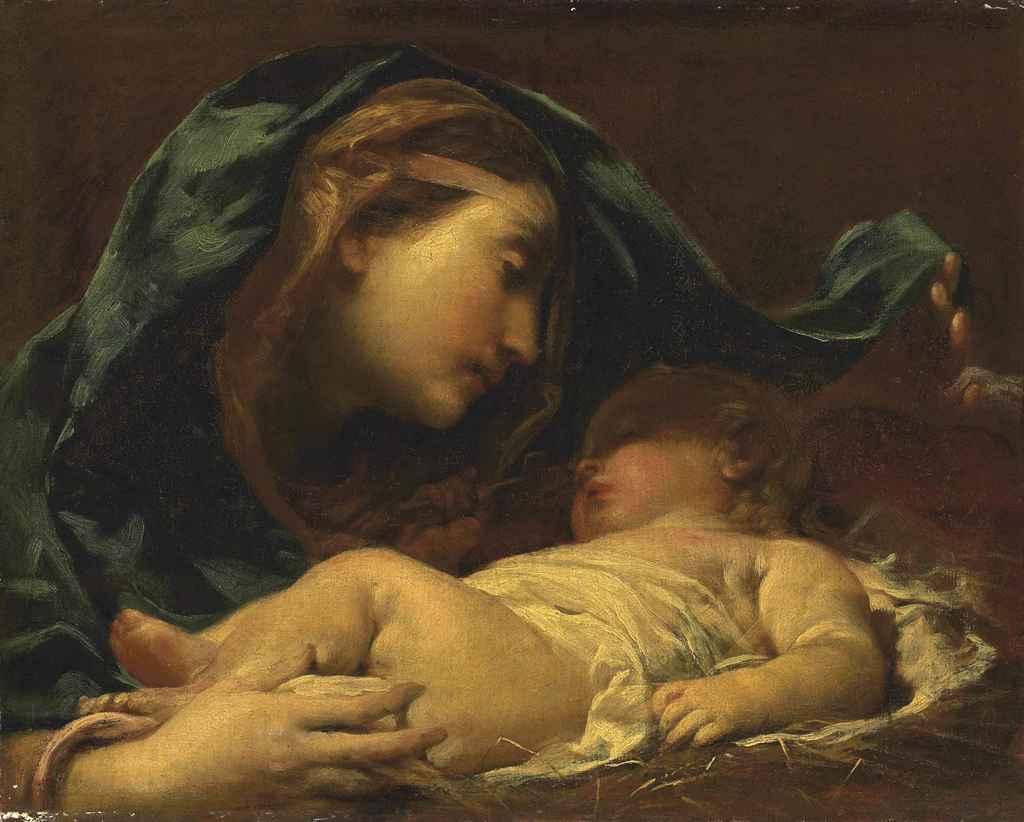 La Vergine ed il Santo Bambino