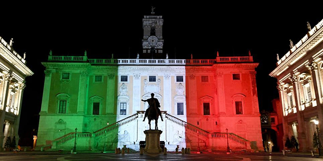 L'Italia potrebbe diventare gialla?