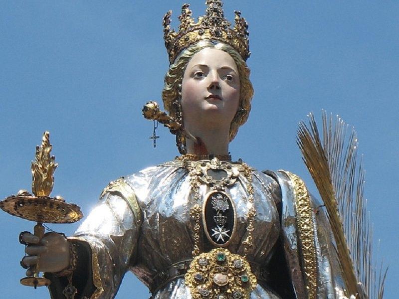 Preghiera a Santa Lucia per una grazia