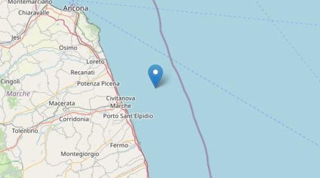 Terremoto, scossa di magnitudo 3.5 nelle Marche